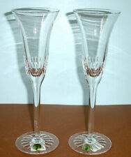 Waterford Crystal Presage Champagne Flute Pair (2) Made in Ireland #139956 New