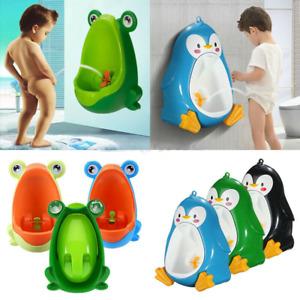 Frog Kids Toddler Potty Toilet Training Children Urinal Boy Pee Trainer Gift