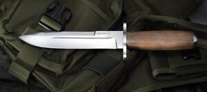 Russian hunting knife SAMSONOV with sheath Super steel AUS-8 kizlyar