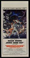 Cartel Moonraker Operación Spazio James Bond Roger Moore Agente 007 N17
