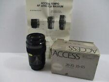 Access-Tempo AF 60-200mm f4-5.6 Zoom Lens for Minolta Maxxum Cameras