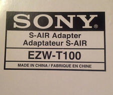 SONY S-AIR Wireless Transmitter EZW-T100 EZWT100 Adapter for BRAVIA Theater  NEW