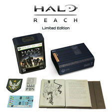 Halo Reach Collector's Limited Edition Xbox 360  Artwork & Material Only NO GAME