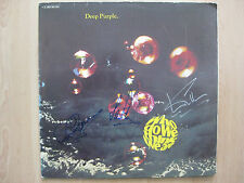 "Deep Purple Autogramme signed LP-Cover ""Who Do We Think We Are"" Vinyl"
