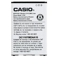 NEW OEM Casio BTR781B HITACHI G'Zone GZONE Ravine 2 C781 BTR781 Battery
