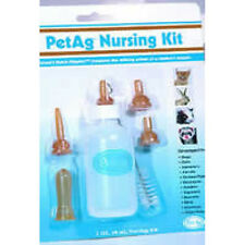 PETAG PET AG NURSER BOTTLE KIT 2 OZ WITH BRUSH NIPPLES FREE SHIP TO THE USA ONLY
