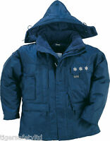 Delta Plus Panoply Laponie 3M Navy Blue Mens Cold Storage Freezer Jacket Coat