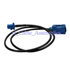 """GPS antenna Extension cable Fakra """"C"""" female to male RG174 1.8m for Satellite"""