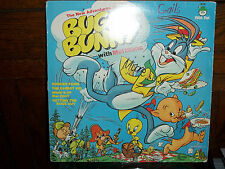 1973 THE NEW ADVENTURES OF BUGS BUNNY WITH MEL BLANC PETER PAN RECORD LP ALBUM