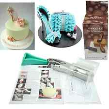 TANGCHU 3D High-heeled Shoes Kit Set Cake Decorating Supplies Chocolate Fondant