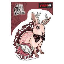 Bunny Rabbit Tattoo Sticker Car Decal Miss Cherry Martini