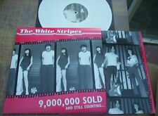 The White Stripes - 9,000,000 Sold And Still Counting White Vinyl LP First Press