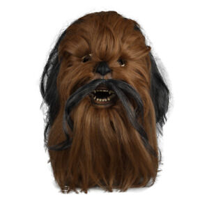 Chewbacca Mask Cosplay Star Wars Mask Collectors Rubber Mask Halloween Mask Prop