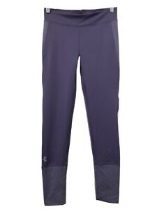 Under Armour Leggings Youth Girls Sz Large Purple Athletic Pants Style 134 4889