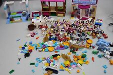 Lot of 32 LEGO Friends Minifigures + Pets + Accessories + Extras SEE PICS