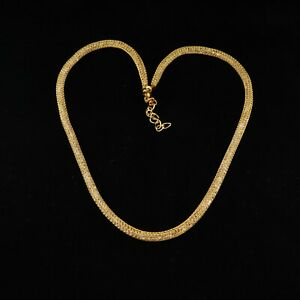 Cubic Zirconia Designer White and yellow gold plated Only Chain CH 001