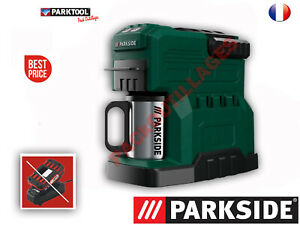 PARKSIDE® Cafetière De Chantier à batterie 20V Sans batterie Ni Chargeur