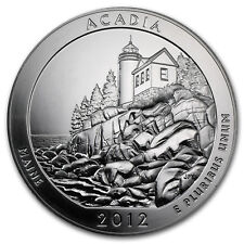 2012 5 oz Silver ATB Acadia National Park, ME - SKU #67997