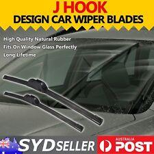 2x Front Car Windscreen Wiper Blades Aero For Toyota Camry XV36R Sedan 2002-2006