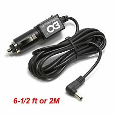 6.5' car charger adapter power cord for sylvania dual screen portable dvd player
