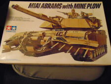 New ListingTamiya M1A1 Abrams with Mine Plow 1/35th Scale Model Kit
