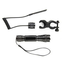 XML-T6 LED 2000LM Tactical Mount Flashlight Torch Shotgun/Rifle Hunting Light TE