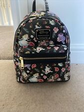 Loungefly Disney Alice In Wonderland Floral Mini Backpack
