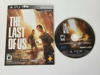 The Last of Us (Sony PlayStation 3 PS3) DISC IN SLEEVE - NOT FOR RESALE - TESTED