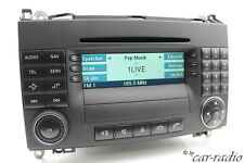 Original Mercedes Audio 50 APS BE6088 Becker MID Headunit W169 W245 W639 W906