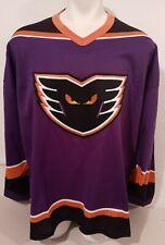 Vintage Bauer AHL Lehigh Valley Philadelphia Phantoms Hockey Jersey Mens XXL 90s