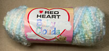 New Red Heart Baby Clouds Yarn - #9010 Pastels - Super Bulky Boucle - 1 Skein