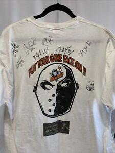 San Diego Gulls Hockey  Team Signed Shirt Size XL