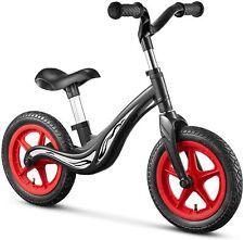 "12"" Sport Balance Bike Kids Ride Bike children Bicycle Cycling Riding Black+Red"