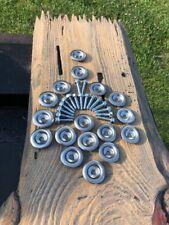 15x SAE Bolts & STAINLESS Skid Washers Plate Polaris 7556065 UTV Ranger Rzr Cstm