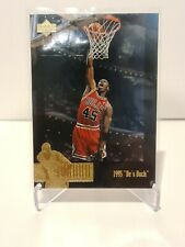 1995-96 Michael Jordan Bulls Upper Deck The Jordan Collection He's Back #JC15 NM