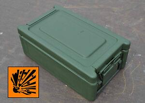 Munitionskiste DM21 A1 / Kiste / Transportkiste / BW / Bundeswehr / Lagerbox