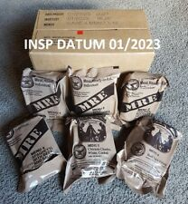 US MRE INSP DATUM 01/2023 MEAL READY TO EAT ARMY FOOD BW EPA NOTRATION NOTVORRAT
