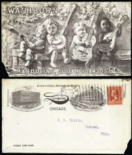 Lyon & Healy All Over Music Ad Back & White Children Cover - Stuart Katz