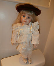 Hamilton Collection Heritage Porcelain Doll Heather By Joke Grobben 1992