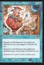 MTG Magic - L'Héritage d'Urza - Désillusions des médiocres -  Rare VF