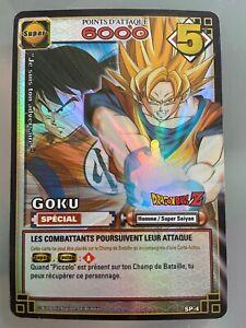 Carte dragon Ball Z DBZ SP4 FR SP-4 Holo Spécial Goku * hors série Rare * JCC