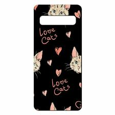 For Samsung Galaxy S10 PLUS Silicone Case Cute Cat Pattern - S5198