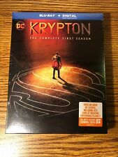 KRYPTON TV SERIES COMPLETE FIRST SEASON 1 Blu-ray + Digital NEW SEALED DC TV