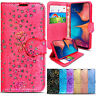 Case For Samsung Galaxy A10 A20E A40 A50 A70 Bling Glitter Flip Wallet Leather