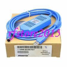 USB-SC09-FX PLC Cable for Mitsubishi FX0S/FX1S/FX0N/FX1N/FX2N win7 8 win10