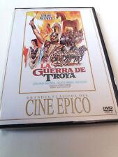 """DVD """"LA GUERRA DE TROYA"""" COMO NUEVO GEORGE FERRONI STEVE REEVES JOHN DREW BARRYM"""