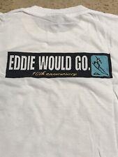 QUIKSILVER EDDIE AIKAU WOULD GO 1994 RARE 10th ANNIVERSARY WAIMEA BAY HAWAII
