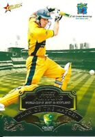 2007-08 select cricket man of the match Ricky Ponting trading card