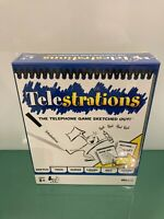 Telestrations The Telephone Game Sketched Out USAopoly Family Game - SEALED