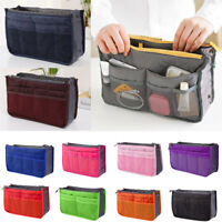 Insert Handbag Organiser Purse Liner Organizer Women Storage Bag Tidy Travel##